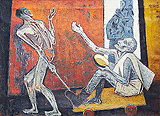 Untitled - K K Hebbar - Summer Online Auction