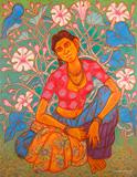 Untitled - A  Ramachandran - Summer Online Auction