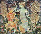 Untitled (Orphée) - Sakti  Burman - Summer Online Auction