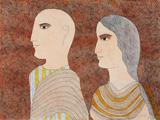 The Young Pilgrims - Badri  Narayan - Modern and Contemporary Indian Art