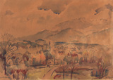 Zakopane - K K Hebbar - Modern and Contemporary Indian Art