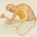 Untitled - Jogen  Chowdhury - Modern and Contemporary Indian Art