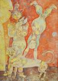 Untitled - Sakti  Burman - Modern and Contemporary Indian Art