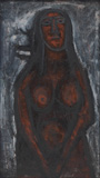 Nude - F N Souza - Modern and Contemporary Indian Art