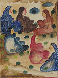 Untitled - Bhupen  Khakhar - 24 Hour Online Auction: Works on paper