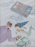 Love Time - Dharamanarayan  Dasgupta - 24 Hour Online Auction: Works on paper