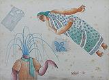 Untitled - Dharamanarayan  Dasgupta - 24 Hour Online Auction: Works on paper