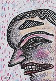 Head Wound - Jogen  Chowdhury - 24 Hour Online Auction: Works on paper