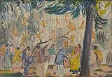 Untitled - K H Ara - 24 Hour Online Auction: Works on paper