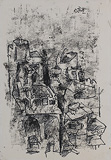 Untitled - M F Husain - 24 Hour Online Auction: Works on paper