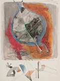 Thirty two AQ 75 - M F Husain - 24 Hour Online Auction: Works on paper