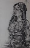 Portrait of M.S - Paritosh  Sen - 24 Hour Online Auction: Works on paper