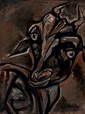 Untitled - Paritosh  Sen - 24 Hour Online Auction: Works on paper