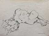 Untitled - A  Ramachandran - 24 Hour Online Auction: Works on paper