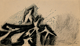 Untitled - Ram  Kumar - 24 Hour Online Auction: Works on paper