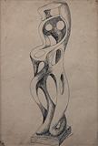 Untitled - Sadanand  Bakre - 24 Hour Online Auction: Works on paper