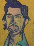 Untitled (Portrait of C.K. Rajan) - Surendran  Nair - 24 Hour Online Auction: Works on paper