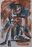 Untitled - Somnath  Hore - 24 Hour Online Auction: Works on paper