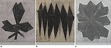 a) Home Grown b) Home Town c) Untitled - Zarina  Hashmi - 24 Hour Online Auction: Works on paper