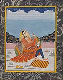 PORTRAIT OF A PRINCESS -    - Classical Indian Art
