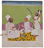 A YOUNG PRINCE OF THE HOUSE OF RATHOR -    - Classical Indian Art