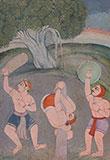 DESAKH RAGINI -    - Classical Indian Art