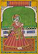 PORTRAIT OF A RULER OF A RAJPUT ROYAL FAMILY - Classical Indian Art