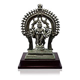 KARTIKEYA WITH HIS PEACOCK -    - Classical Indian Art