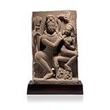 SHIVA'S FAMILY -    - Classical Indian Art