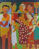 Untitled - K Laxma  Goud - The Discerning Eye | Bangalore, Live