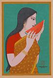 Untitled - Lalu Prasad Shaw - The Discerning Eye | Bangalore, Live