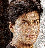 Ommatidia III (Shah Rukh Khan) - Rashid  Rana - Contemporary Day Sale | Mumbai, Live