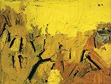Untitled (Yellow Landscape) - S H Raza - Modern Evening Sale | Mumbai, Live