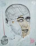 Lease of face - Aditya  Pande - Kochi Muziris Biennale Fundraiser Auction | Mumbai, Live