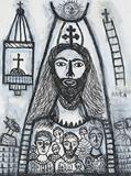Christ - Madhvi  Parekh - Kochi Muziris Biennale Fundraiser Auction | Mumbai, Live