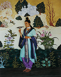 The Green Yogini - Pushpamala  N - Kochi Muziris Biennale Fundraiser Auction | Mumbai, Live
