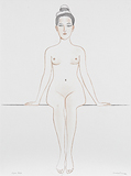 Figure study - Surendran  Nair - Kochi Muziris Biennale Fundraiser Auction | Mumbai, Live