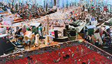 Barricade (with mattress) - Vivan  Sundaram - Kochi Muziris Biennale Fundraiser Auction | Mumbai, Live