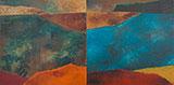 Untitled (Metascape) - Akbar  Padamsee - Evening Sale | New Delhi, Live