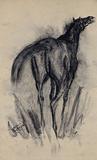Untitled (Horse) - Sunil  Das - Summer Online Auction