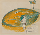 Untitled - Bhupen  Khakhar - Works on Paper Online Auction