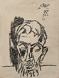 M F Husain - Works on Paper Online Auction