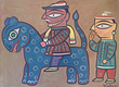 Jamini  Roy - Works on Paper Online Auction