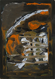 Untitled - S H Raza - Works on Paper Online Auction