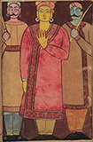 Untitled - Jamini  Roy - Art and Collectibles Online Auction