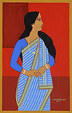 Untitled - Lalu Prasad Shaw - Art and Collectibles Online Auction