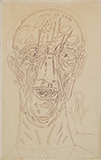Portrait of Robert Wraight - F N Souza - Art and Collectibles Online Auction