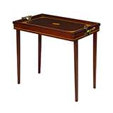 CAMPAIGN TRAY TABLE -    - Art and Collectibles Online Auction