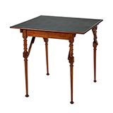 CAMPAIGN CARD TABLE -    - Art and Collectibles Online Auction