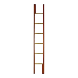 CAMPAIGN LIBRARY 'POLE' LADDER -    - Art and Collectibles Online Auction